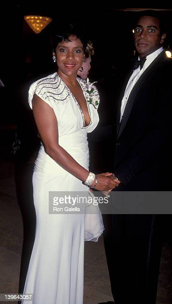Actress Phylicia Rashad and husband Ahmad Rashad attending 'Carousel Of Hope Ball Benefit' on October 2 1992 at the Beverly Hilton Hotel in Beverly...
