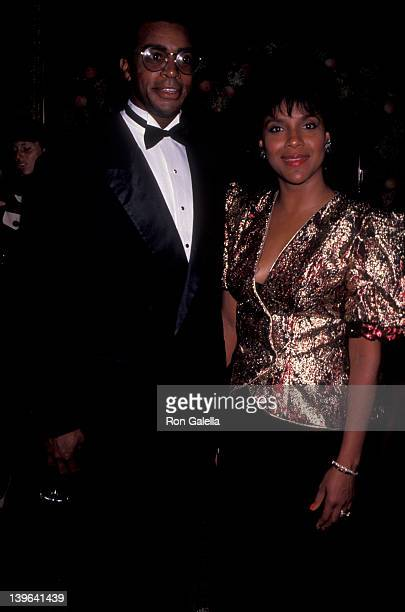 Actress Phylicia Rashad and sportscaster Ahmad Rashad attending 'Showstopper Awards' on September 30 1991 at James Burden's home in New York City New...