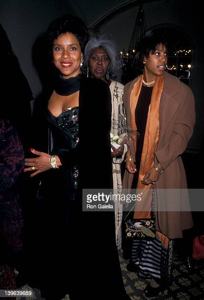 Actress Phylicia Rashad attending 35th Anniversary Gala For the Alvin Ailey American Dance Theater on December 8 1993 at the City Center in New York...