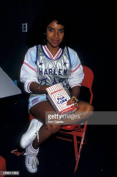 Actress Phylicia Rashad attending 'Franciscan Games' on September 26 1987 at Madison Square Garden in New York City New York