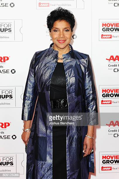 Actress Phylicia Rashad attends AARP's 15th Annual Movies For Grownups Awards at the Beverly Wilshire Four Seasons Hotel on February 8 2016 in...