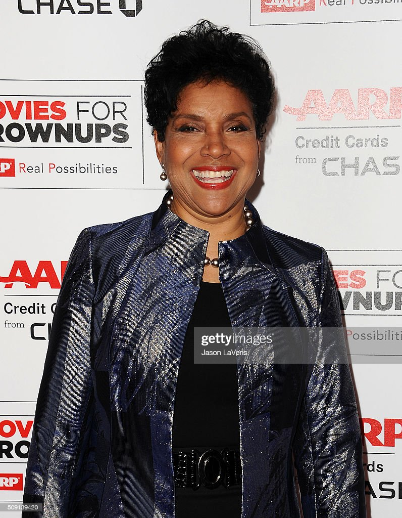 Actress Phylicia Rashad attends the 15th annual Movies For Grownups Awards at the Beverly Wilshire Four Seasons Hotel on February 8, 2016 in Beverly Hills, California.