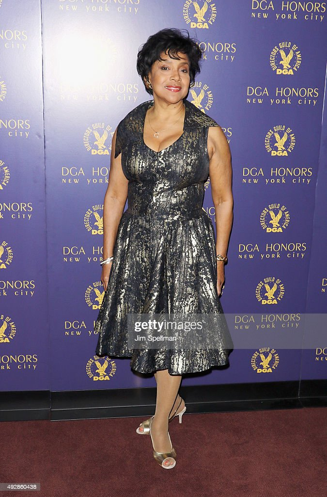 Actress Phylicia Rashad attends the DGA Honors Gala 2015 at the DGA Theater on October 15, 2015 in New York City.