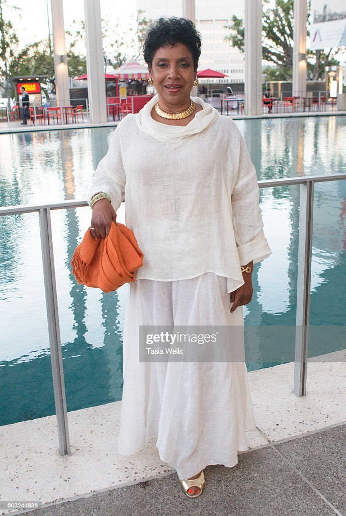 Actress Phylicia Rashad attends the opening night of 'Ma Rainey's Black Bottom' at Mark Taper Forum on September 11, 2016 in Los Angeles, California.