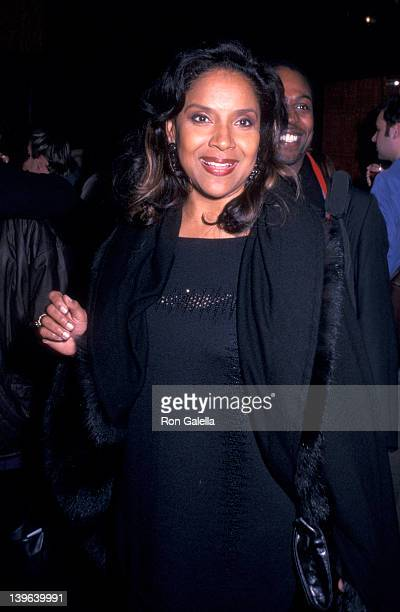 Actress Phylicia Rashad attenidng the opening party for Russell Simmon's 'Def Poetry Jam On Broadway' on November 14 2002 at Bryant Park Grill in New...