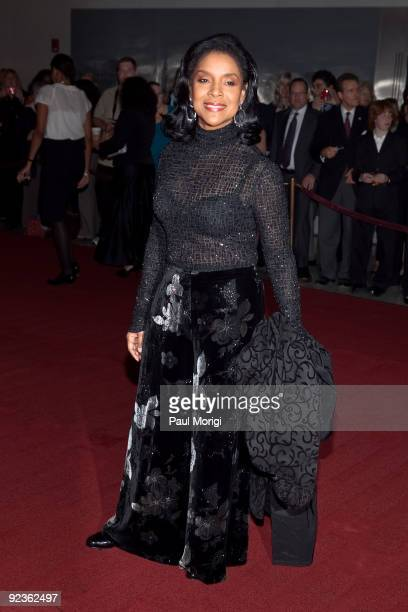 Actress Phylicia Rashad on the red carpet at the 12th Annual Mark Twain Prize at the John F Kennedy Center for the Performing Arts on October 26 2009...