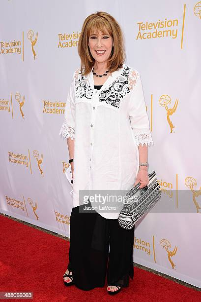 Actress Phyllis Logan attends an afternoon with 'Downton Abbey' at Paramount Studios on May 3 2014 in Hollywood California