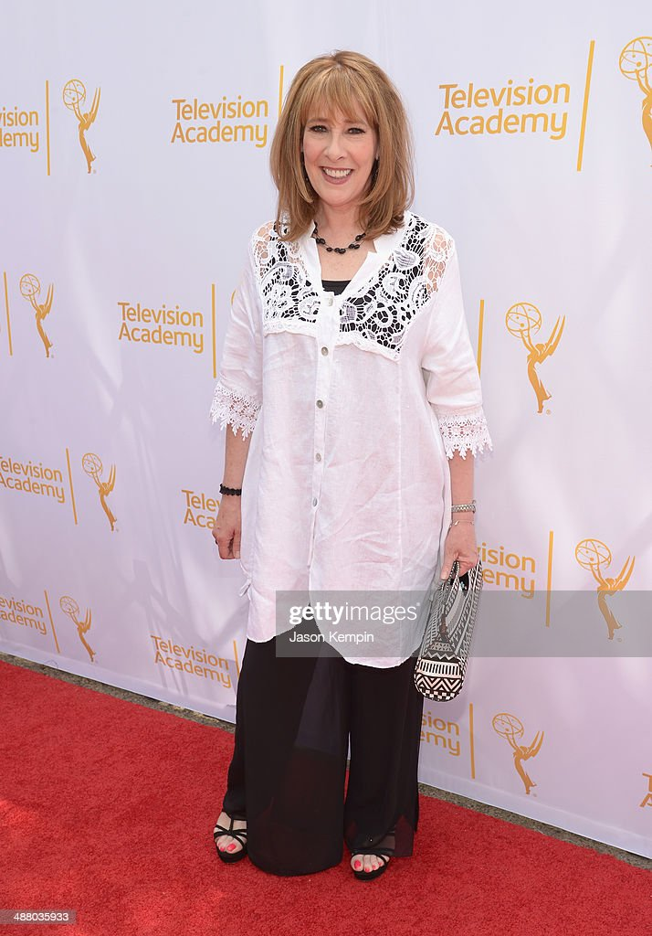 Actress <a gi-track='captionPersonalityLinkClicked' href=/galleries/search?phrase=Phyllis+Logan&family=editorial&specificpeople=540316 ng-click='$event.stopPropagation()'>Phyllis Logan</a> attends The Television Academy Presents An Afternoon with 'Downton Abbey' at Paramount Studios on May 3, 2014 in Hollywood, California.