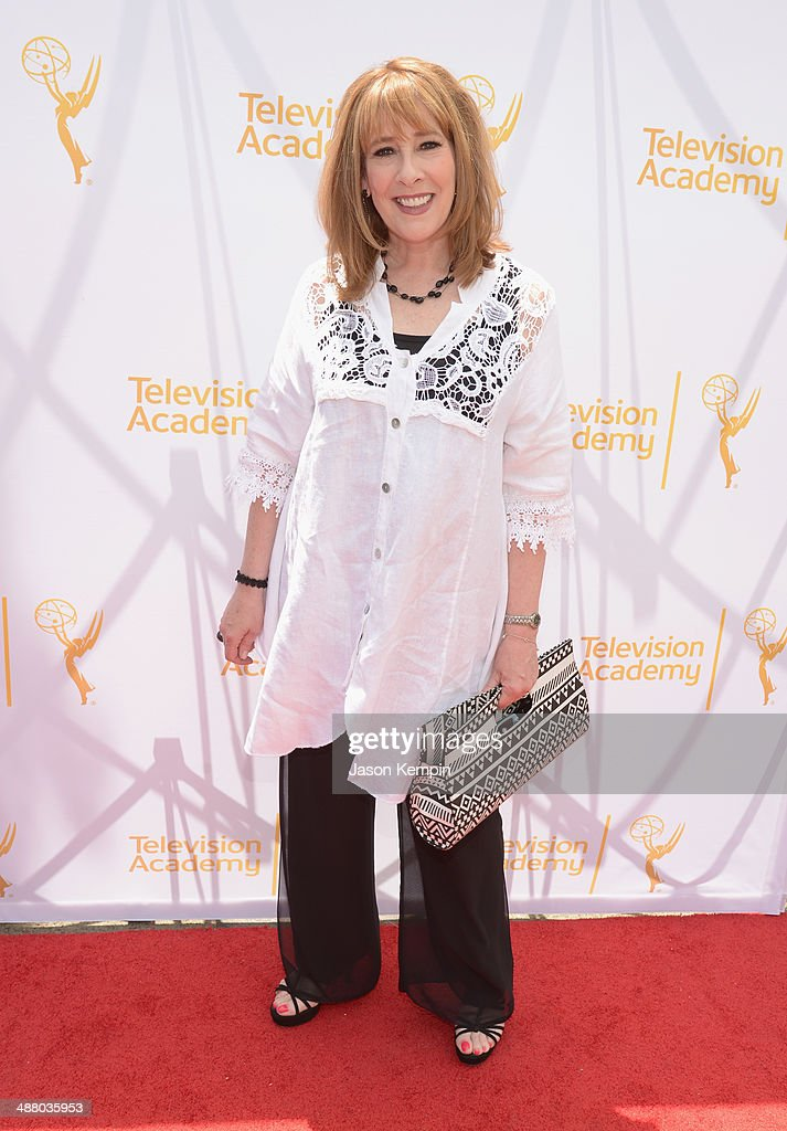 Actress Phyllis Logan attends The Television Academy Presents An Afternoon with 'Downton Abbey' at Paramount Studios on May 3, 2014 in Hollywood, California.