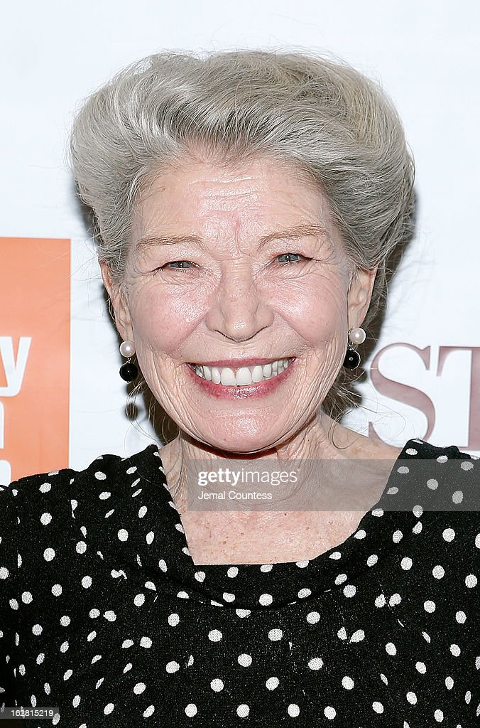 Actress Phyllis Somerville attends the 'Stoker' New York Screening at The Film Society of Lincoln Center, Walter Reade Theatre on February 27, 2013 in New York City.