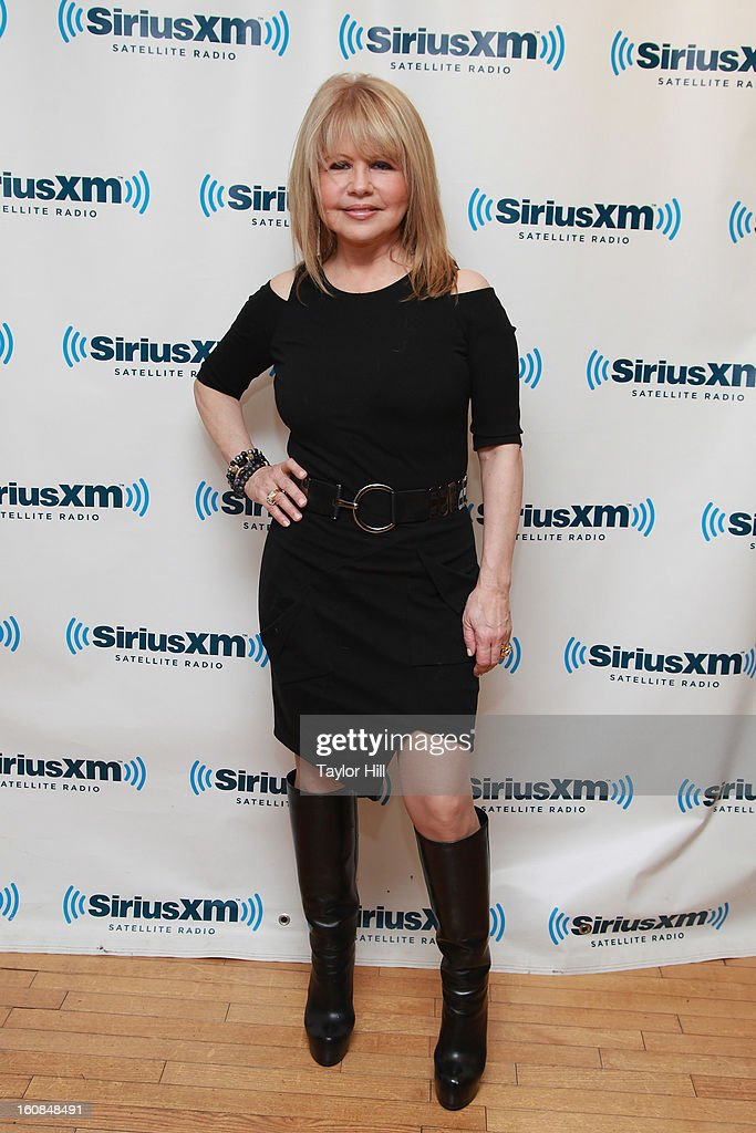 Actress Pia Zadora visits SiriusXM Studios on February 6, 2013 in New York City.