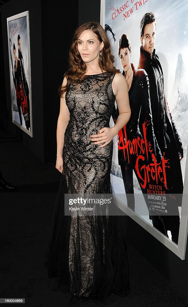 Actress Pihla Viitala arrives for the Los Angeles premiere of Paramount Pictures' 'Hansel And Gretel Witch Hunters' at TCL Chinese Theatre on January 24, 2013 in Hollywood, California.