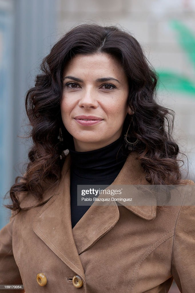 Actress Pilar Punzano attends 'Cuentame Como Paso' 14th Season presentation at Estudios Grupo Ganga on January 9, 2013 in Pinto, Spain.
