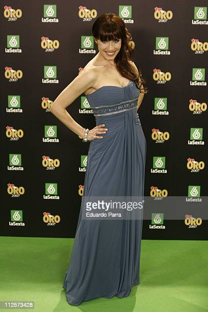 Actress Pilar Rubio attends the TP Magazine Awards at IFEMA Congress Palace on February 13 2008 in Madrid Spain