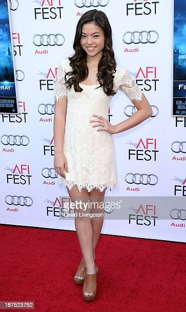 Actress Piper Curda attends the AFI FEST 2013 presented by Audi 50th Anniversary Commemoration Screening of Disney's 'Mary Poppins' at the TCL...