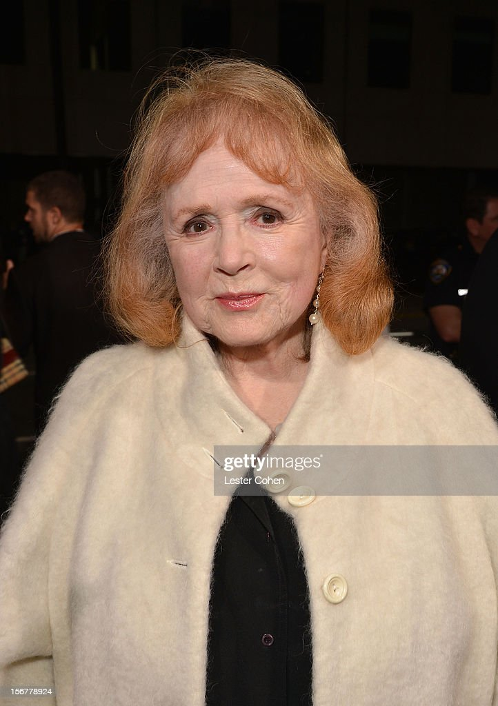 Actress Piper Laurie arrives at the premiere of Fox Searchlight Pictures' 'Hitchcock' at the Academy of Motion Picture Arts and Sciences Samuel Goldwyn Theater on November 20, 2012 in Beverly Hills, California.