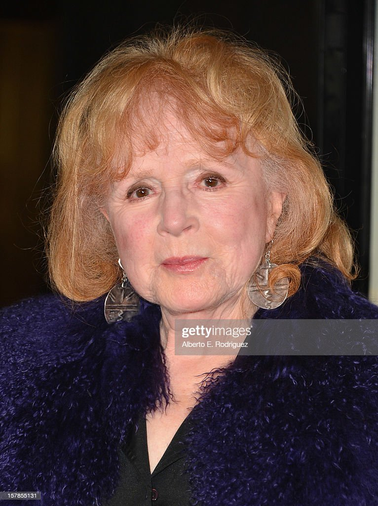 Actress Piper Laurie arrives to the premiere of Focus Features' 'Promised Land' at the Directors Guild Of America on December 6, 2012 in Los Angeles, California.