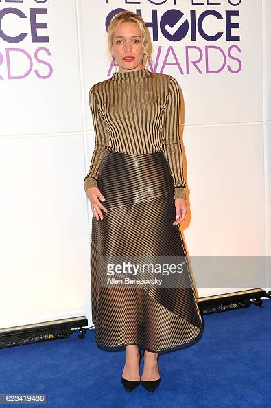Actress Piper Perabo attends People's Choice Awards Nominations Press Conference at The Paley Center for Media on November 15 2016 in Beverly Hills...