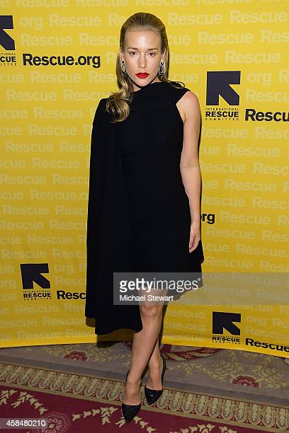 Actress Piper Perabo attends the 2014 International Rescue Committee Freedom Award Benefit Event at The WaldorfAstoria on November 5 2014 in New York...