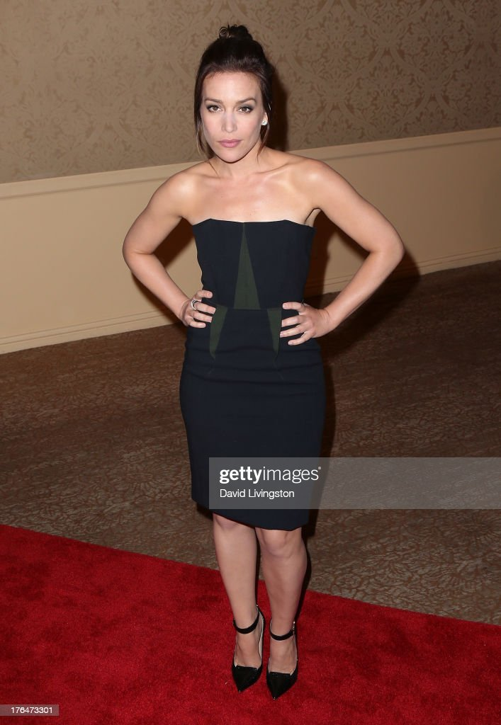 Actress Piper Perabo attends the Hollywood Foreign Press Association's 2013 Installation Luncheon at The Beverly Hilton Hotel on August 13, 2013 in Beverly Hills, California.