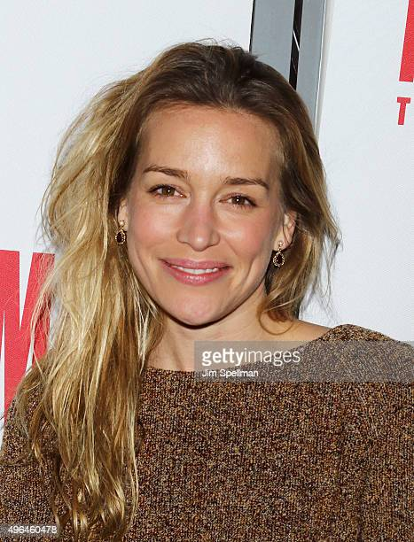 Actress Piper Perabo attends the 'Lost Girls' opening night after party at 49 Grove on November 9 2015 in New York City