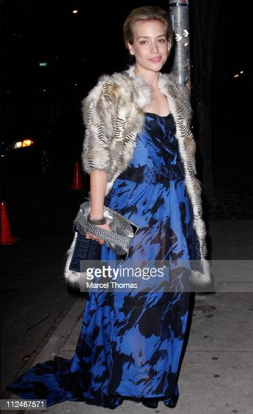 Actress Piper Perabo is seen on the streets of Manhattan on November 17 2008 in New York City