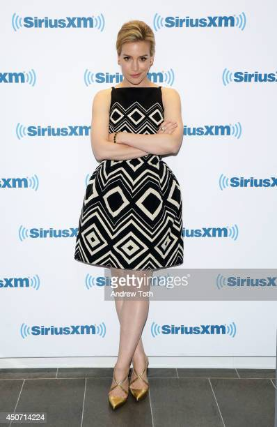 Actress Piper Perabo visits SiriusXM Studios on June 16 2014 in New York City