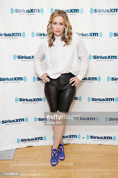 Actress Piper Perabo visits the SiriusXM Studios on July 23 2013 in New York City