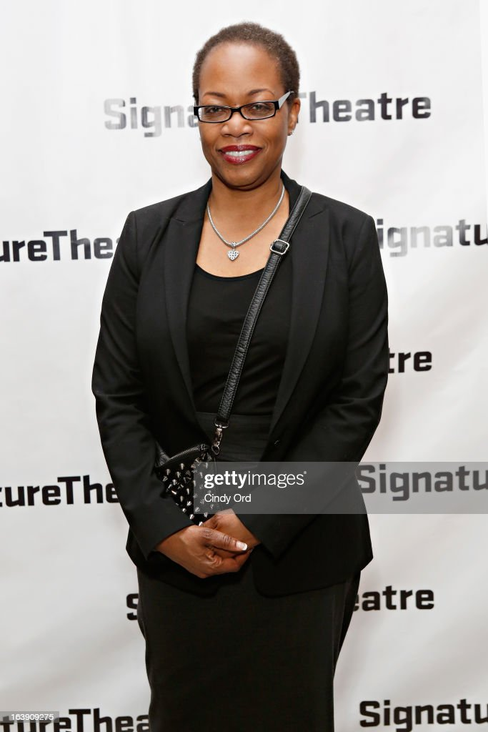 Actress/ playwright Regina Taylor attends 'The Mound Builders' Opening Night Party at Signature Theatre Company's The Pershing Square Signature Center on March 17, 2013 in New York City.