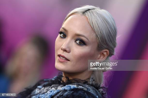 Actress Pom Klementieff arrives at the premiere of Disney and Marvel's 'Guardians of the Galaxy Vol 2' at Dolby Theatre on April 19 2017 in Hollywood...