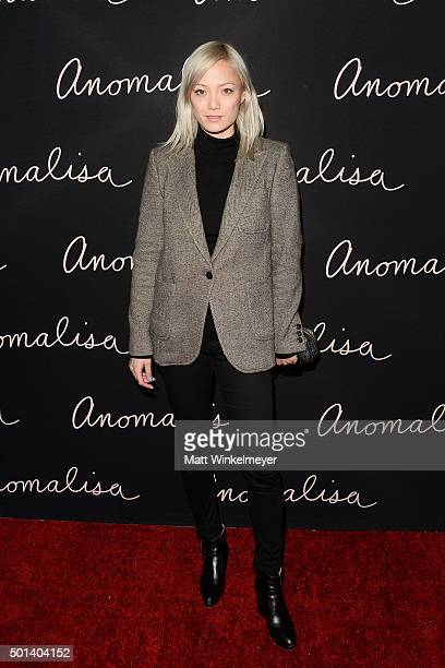 Actress Pom Klementieff arrives at the special screening of Paramount Pictures' 'Anomalisa' at the Egyptian Theatre on December 14 2015 in Hollywood...