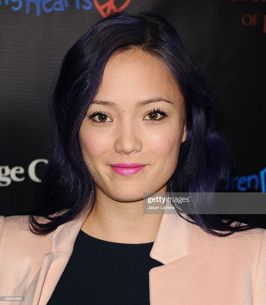 Actress Pom Klementieff attends the 'August: Osage County' benefit screening at the Landmark Theater on December 5, 2013 in Los Angeles, California.