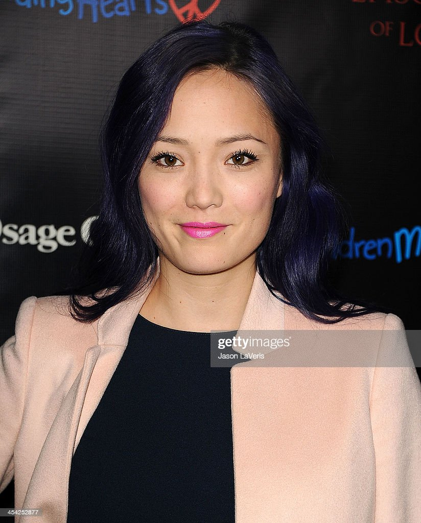 Actress <a gi-track='captionPersonalityLinkClicked' href=/galleries/search?phrase=Pom+Klementieff&family=editorial&specificpeople=5679573 ng-click='$event.stopPropagation()'>Pom Klementieff</a> attends the 'August: Osage County' benefit screening at the Landmark Theater on December 5, 2013 in Los Angeles, California.