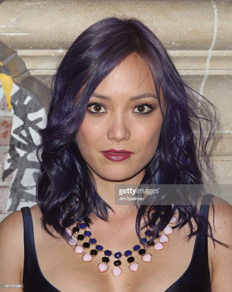 Actress Pom Klementieff attends the FilmDistrict & Complex Media with The Cinema Society & Grey Goose screening of 'Oldboy' after party at TAO Downtown on November 11, 2013 in New York City.
