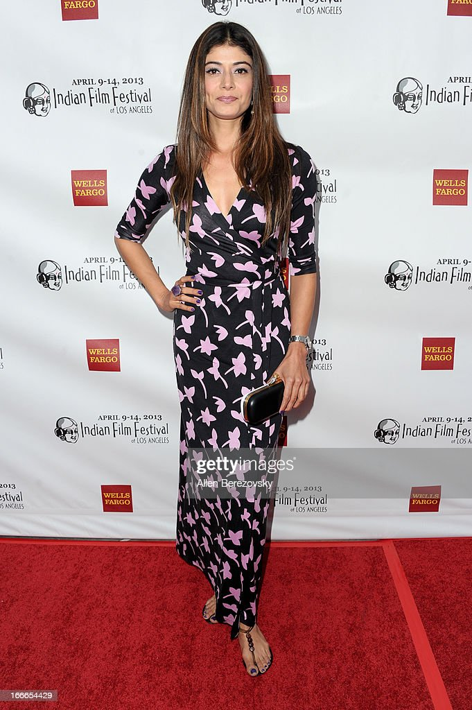 Actress Pooja Batra attends the 11th Annual Indian Film Festival of Los Angeles Closing Night Gala premiere of 'Midnight's Children' at ArcLight Hollywood on April 14, 2013 in Hollywood, California.