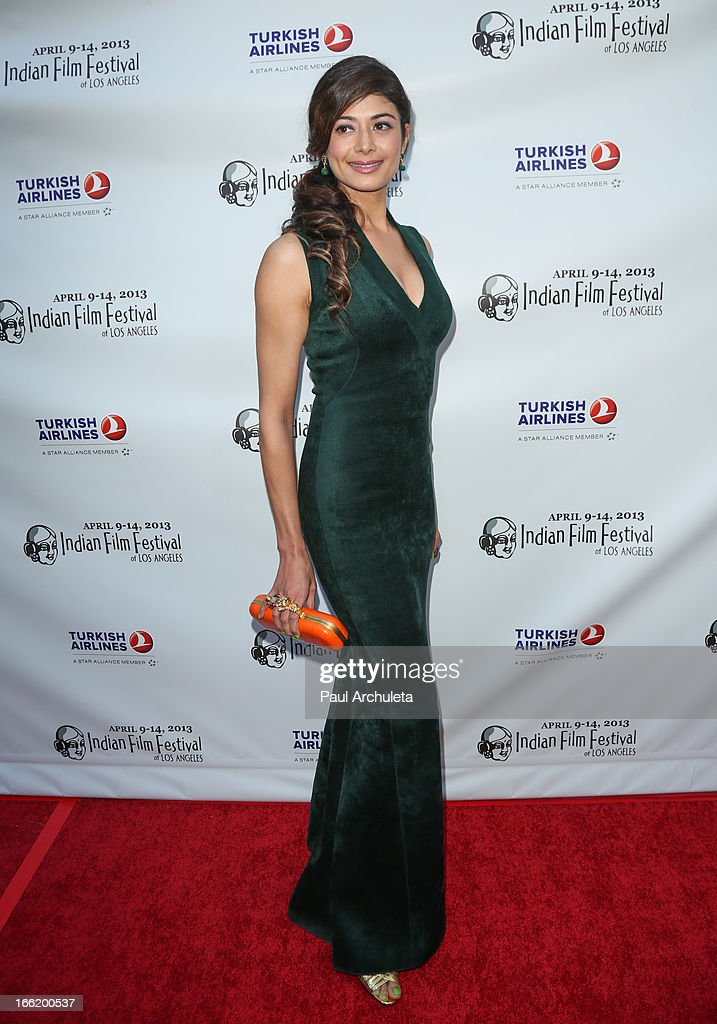 Actress Pooja Batra attends the Indian Film Festival Of Los Angeles (IFFLA) opening night gala for 'Gangs Of Wasseypur' at ArcLight Cinemas on April 9, 2013 in Hollywood, California.