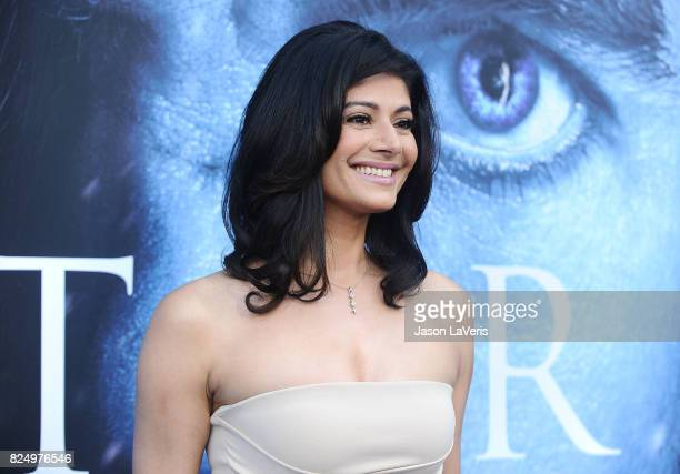 Actress Pooja Batra attends the season 7 premiere of 'Game Of Thrones' at Walt Disney Concert Hall on July 12 2017 in Los Angeles California