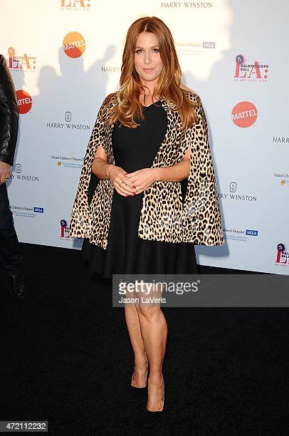 Actress Poppy Montgomery attends the Mattel Children's Hospital UCLA Kaleidoscope Ball at 3LABS on May 2 2015 in Culver City California