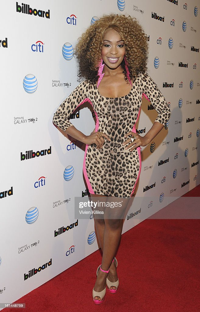 Actress Porscha Coleman attends Citi And AT&T Present The Billboard After Party at The London Hotel on February 10, 2013 in West Hollywood, California.
