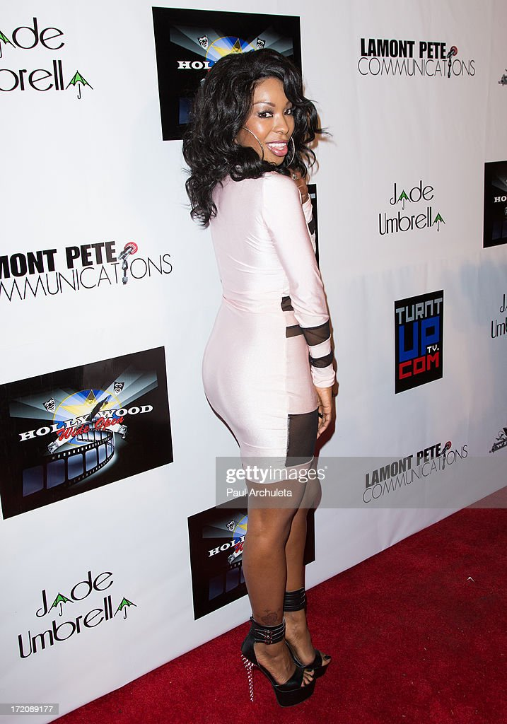 Actress Porscha Coleman attends the 'Party After' the 2013 BET Awards hosted by Chris Brown and Nick Cannon at The Belasco Theater on June 30, 2013 in Los Angeles, California.