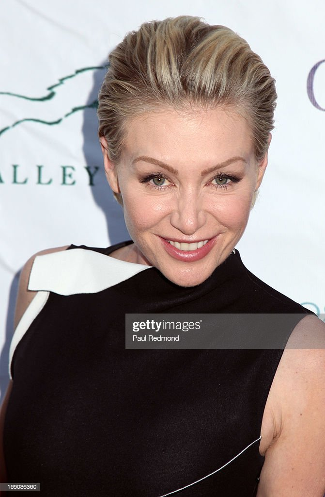 Actress Portia de Rossi arrives at the 6th Annual Compton Jr. Posse Gala at Los Angeles Equestrian Center on May 18, 2013 in Los Angeles, California.