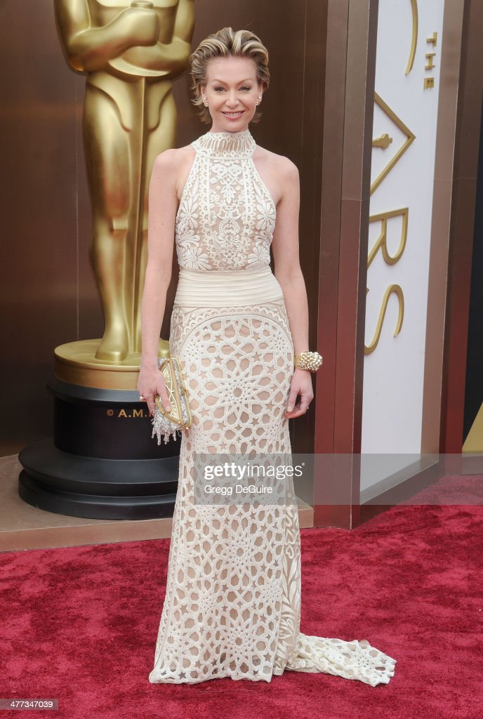 Actress Portia de Rossi arrives at the 86th Annual Academy Awards at Hollywood & Highland Center on March 2, 2014 in Hollywood, California.