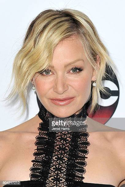 Actress Portia de Rossi arrives at the Disney/ABC 2016 Winter TCA Tour at the Langham Hotel on January 9 2016 in Pasadena California