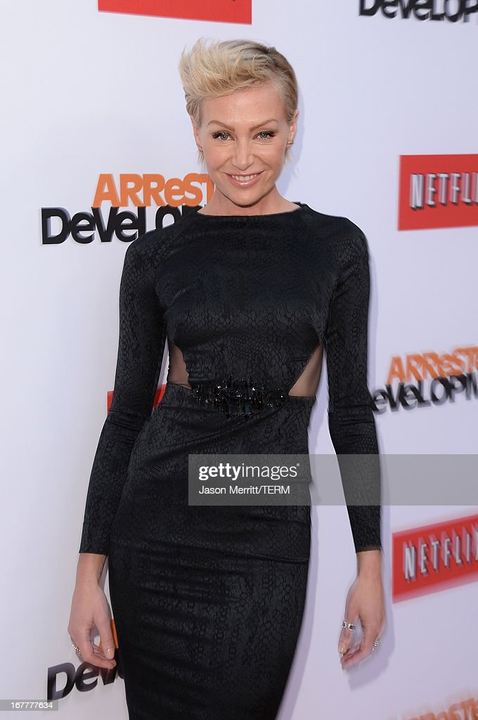 Actress Portia de Rossi arrives at the TCL Chinese Theatre for the premiere of Netflix's 'Arrested Development' Season 4 held on April 29, 2013 in Hollywood, California.