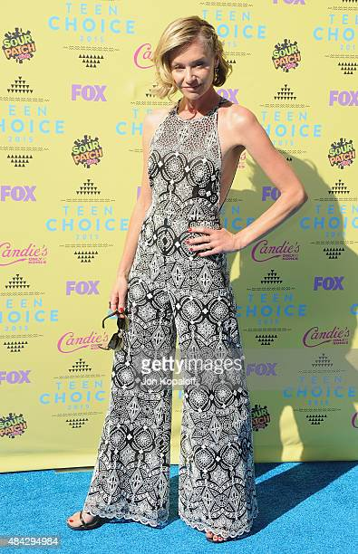 Actress Portia de Rossi arrives at the Teen Choice Awards 2015 at Galen Center on August 16 2015 in Los Angeles California