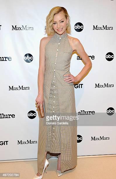 Actress Portia de Rossi attends 'MaxMara Allure Celebrate ABC's #TGIT' at MaxMara on November 14 2015 in Beverly Hills California