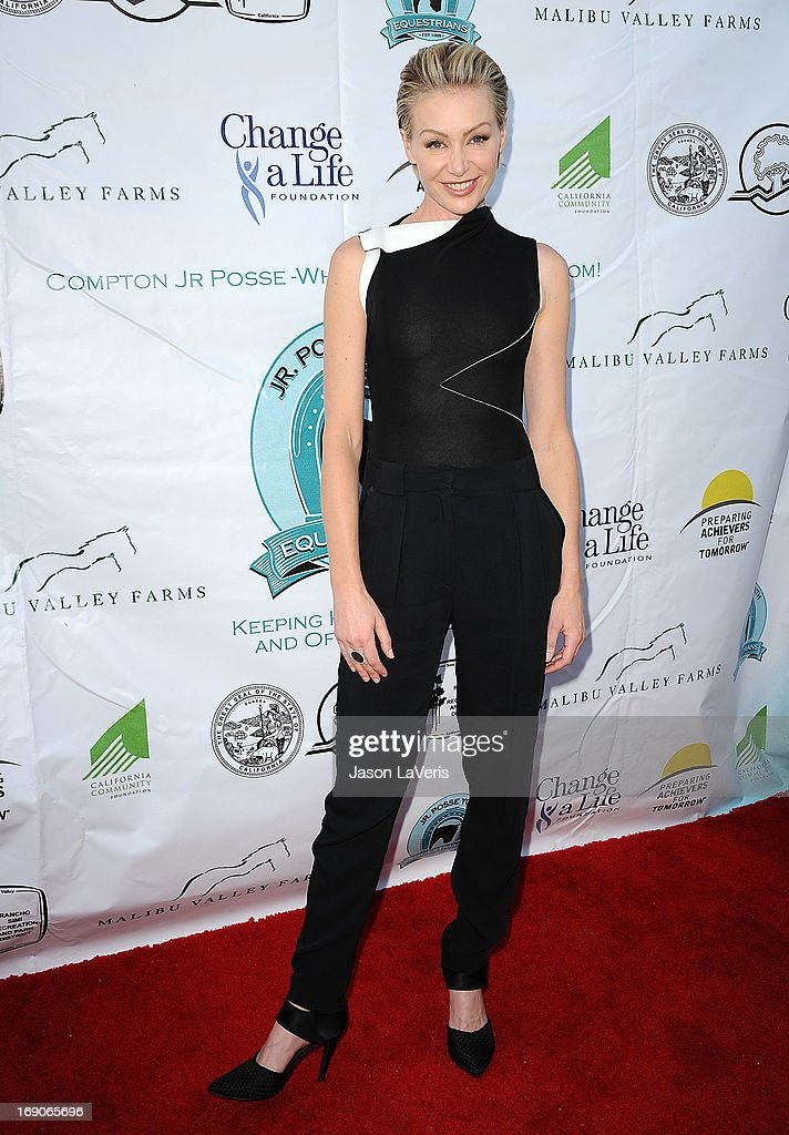 Actress Portia de Rossi attends the 6th annual Compton Jr. Posse gala at Los Angeles Equestrian Center on May 18, 2013 in Los Angeles, California.