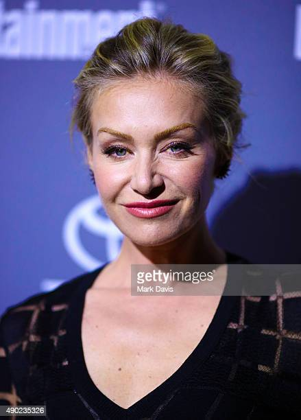Actress Portia de Rossi attends the celebration of ABC's TGIT Lineup held at Gracias Madre on September 26 2015 in West Hollywood California