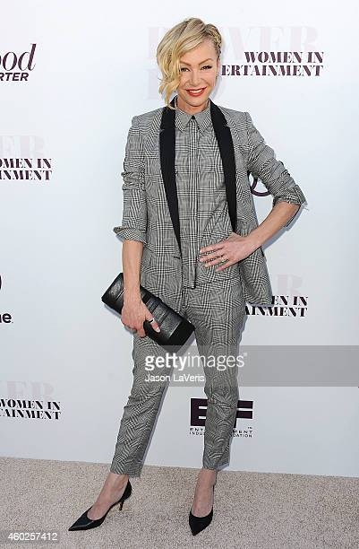Actress Portia de Rossi attends the Hollywood Reporter's Women In Entertainment breakfast at Milk Studios on December 10 2014 in Los Angeles...