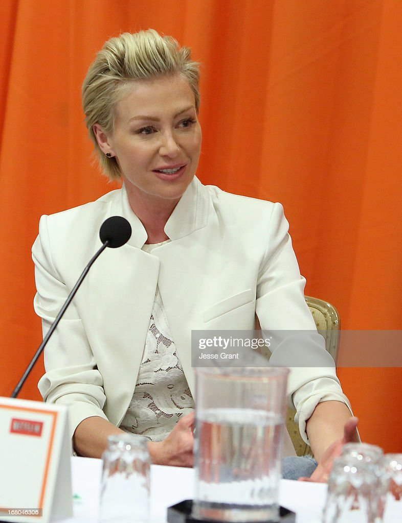 Actress Portia de Rossi attends The Netflix Original Series 'Arrested Development' Press Conference at Sheraton Universal on May 4, 2013 in Universal City, California.